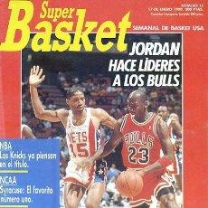 Coleccionismo deportivo: REVISTA SUPER BASKET Nº15 CONTIENE POSTER . Lote 118925503