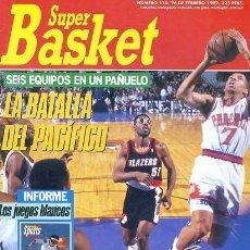 Coleccionismo deportivo: REVISTA SUPER BASKET Nº116 CONTIENE POSTER . Lote 118925543