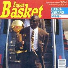 Coleccionismo deportivo: REVISTA SUPER BASKET Nº92 EXTRA VERANO CONTIENE POSTER MICHAEL JORDAN & MAGIC JOHNSON. Lote 118925683