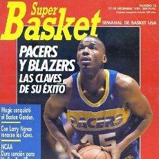 Coleccionismo deportivo: REVISTA SUPER BASKET Nº12 CONTIENE POSTER . Lote 118926011