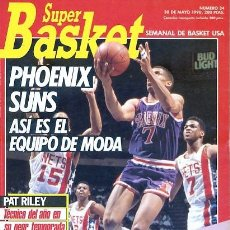 Coleccionismo deportivo: REVISTA SUPER BASKET Nº34 CONTIENE POSTER . Lote 118926203
