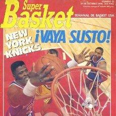 Coleccionismo deportivo: REVISTA SUPER BASKET Nº51 CONTIENE POSTER . Lote 118926387