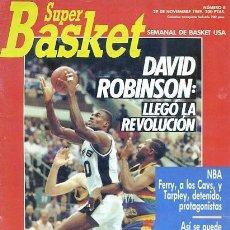 Coleccionismo deportivo: REVISTA SUPER BASKET Nº8 CONTIENE POSTER . Lote 118926659