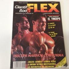 Coleccionismo deportivo: FLEX Nº 7 - CIENTIFIC BODY - MONOGRAFIAS TECNICAS DE MUSCULACION APLICADA ( CULTURISMO ). Lote 119009791