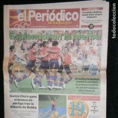 Coleccionismo deportivo: F1 EL PERIODICO DE LOS JUEGOS BARCELONA 92 SABADO 8 DE AGOSTO 1992 ESPLENDOR EN LA HIERBA . Lote 120286035