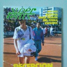 Coleccionismo deportivo: REVISTA SUPER TENIS Nº 61 FEBRERO 1990. Lote 120369855