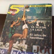 Coleccionismo deportivo: TODO BALONCESTO REVISTA ANTIGUA 1981. Lote 120378559