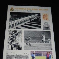 Collezionismo sportivo: HISTORIA DEL REAL MADRID CONTADA POR ABC LAMINA 2. Lote 120422083