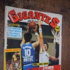 Coleccionismo deportivo: GIGANTES DEL BASKET Nº 123, 1988, POSTER DOBLE DE MICHAEL COOPER Y COLECCIONABLE DE GRANDES SISTEMAS. Lote 120488691