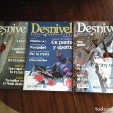 Coleccionismo deportivo: DESNIVEL. REVISTA DE MONTAÑA. Lote 120563523