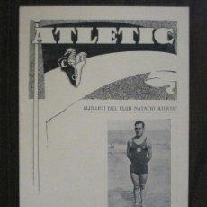 Coleccionismo deportivo: ATLETIC-BUTLLETI CLUB NATACIO ATLETIC- NUM. 4- NOVEMBRE 1933 -VER FOTOS(V-14.465). Lote 120947719