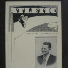 Coleccionismo deportivo: ATLETIC-BUTLLETI CLUB NATACIO ATLETIC- NUM. 6- GENER FEBRER 1934 -VER FOTOS(V-14.467). Lote 120948079