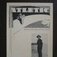 Coleccionismo deportivo: ATLETIC-BUTLLETI CLUB NATACIO ATLETIC- NUM. 8 - ABRIL 1934 -VER FOTOS(V-14.469). Lote 120948419