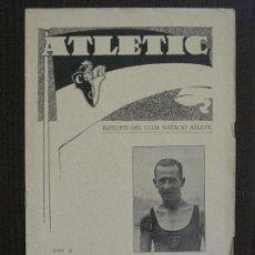 Coleccionismo deportivo: ATLETIC-BUTLLETI CLUB NATACIO ATLETIC- NUM. 12 - AGOST 1934 -VER FOTOS(V-14.473). Lote 120949087