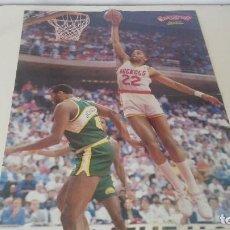 Coleccionismo deportivo: ANTIGUO POSTER DE BALONCESTO NBA GIGANTES RODNEY MCCRAY. Lote 122336003