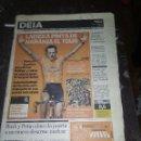 Coleccionismo deportivo: LAISEKA PINTA DE NARANJA EL TOUR EUSKALTEL / DEIA 23 JULIO 2001. Lote 122722111