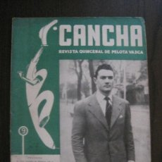 Coleccionismo deportivo: CANCHA - REVISTA DE PELOTA VASCA-PELOTARIS-FRONTON - NUM.49-AÑO 1947-MEXICO -VER FOTOS-(V-14.753). Lote 123226179