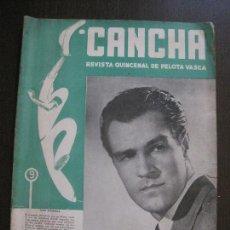Coleccionismo deportivo: CANCHA - REVISTA DE PELOTA VASCA-PELOTARIS-FRONTON - NUM.70 -AÑO 1948-MEXICO -VER FOTOS-(V-14.758). Lote 123228295