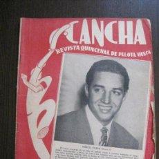 Coleccionismo deportivo: CANCHA - REVISTA DE PELOTA VASCA-PELOTARIS-FRONTON - NUM.127 -AÑO 1950-MEXICO -VER FOTOS-(V-14.766). Lote 123231991