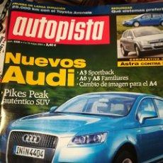 Coleccionismo deportivo: 10 REVISTAS DE AUTOPISTA VARIOS NUMEROS. Lote 125205470
