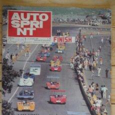 Coleccionismo deportivo: REVISTA AUTO SPRINT. Nº45, NOVIEMBRE 1969. SETTIMANALE DI AUTOMOBILISMO. AUTO SPRI NT. ITALIANO. Lote 125466799