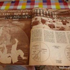 Coleccionismo deportivo: REVISTA DEPORTES(11-1971)ANGEL NIETO CAMPEÓN MUNDO,VII CAMPEONATOS DEL MUNDO DE JUDO. Lote 125942819