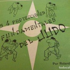 Coleccionismo deportivo: SUPLEMENTO DEPORTES Nº 15-LAS 4 PROYECCIONES FUNDAMENTALES DEL JUDO. Lote 125943315