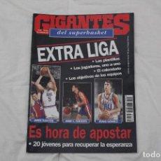 Coleccionismo deportivo: REVISTA GIGANTES DEL BASKET. GUÍA ACB TEMPORADA 1994/95. Lote 126273011