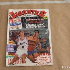 Coleccionismo deportivo: GIGANTES DEL BASKET Nº 162, CON POSTER CENTRAL. Lote 126724419