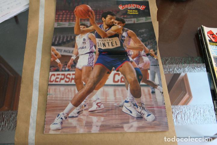 Coleccionismo deportivo: GIGANTES DEL BASKET Nº 167, CON POSTER CENTRAL - Foto 2 - 126803395