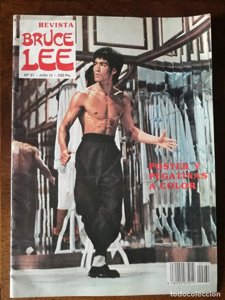 REVISTA BRUCE LEE Nº 31 AÑO IV NUEVO 1986 FOTOS POSTER Y PEGATINAS (Coleccionismo Deportivo - Revistas y Periódicos - otros Deportes)