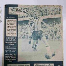 Coleccionismo deportivo: REVISTA BARÇA: AÑO VII NUM 311, DEL AÑO 1961. LEIF ERIKSSON PUEDE SER AZULGRANA. Lote 127942024