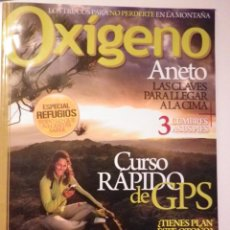 Coleccionismo deportivo: REVISTA OXÍGENO - NÚMERO 15 OCTUBRE 2009. Lote 128044259
