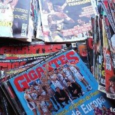 Coleccionismo deportivo: LOTE DE 154 REVISTAS GIGANTES DEL BASKET. AÑOS 80 / 90.. Lote 128174195