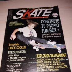 Coleccionismo deportivo: REVISTA SKATEBOARD - SKATE MAGAZINE NUM. 10. Lote 183096441