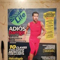 Coleccionismo deportivo: REVISTA - SPORT LIFE NUMERO 165 - DEPORTES - ENERO 2013 ADIÓS BARRIGA. Lote 128679863