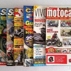 Coleccionismo deportivo: REVISTAS MOTOS: SOLO SCOOTER - VIVASCOOTER - SCOOTER - CATÁLOGO SCOOTING Y MOTOCASION (VER + FOTOS). Lote 128691619