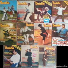 Coleccionismo deportivo: LOTE DE 19 REVISTAS DE ARTES MARCIALES ''EL BUDOKA'' (1976-1989). Lote 57673036