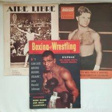 Coleccionismo deportivo: LOTE REVISTAS DEPORTIVAS ANTIGUAS.. Lote 128901312