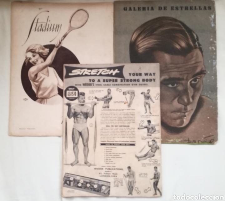 Coleccionismo deportivo: Lote Revistas Deportivas Antiguas. - Foto 2 - 128901312