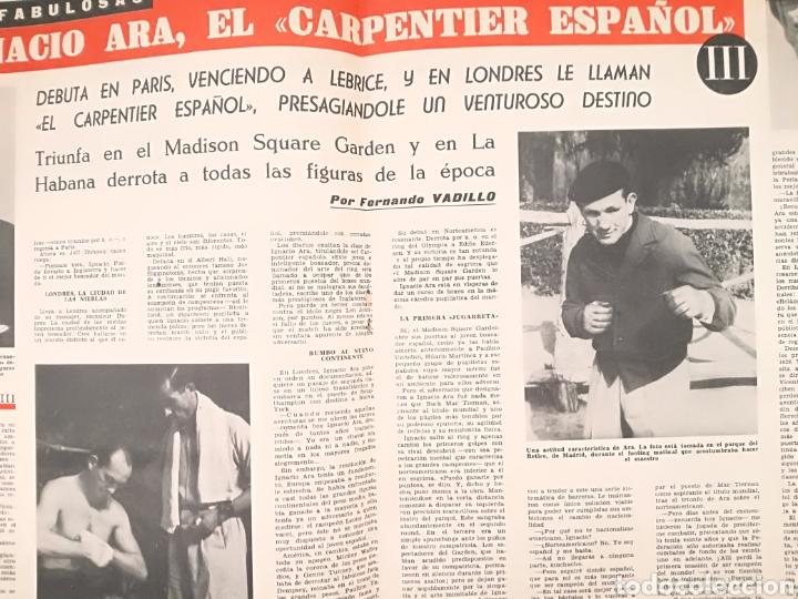 Coleccionismo deportivo: Lote Revistas Deportivas Antiguas. - Foto 5 - 128901312