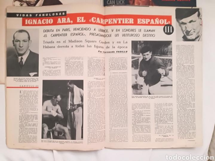 Coleccionismo deportivo: Lote Revistas Deportivas Antiguas. - Foto 11 - 128901312