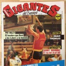 Coleccionismo deportivo: REVISTA BALONCESTO GIGANTES DEL BASKET Nº 140. Lote 129121131