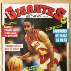 Coleccionismo deportivo: REVISTA BALONCESTO GIGANTES DEL BASKET Nº 116. Lote 129121235