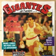 Coleccionismo deportivo: REVISTA BALONCESTO GIGANTES DEL BASKET Nº 148. Lote 129121275