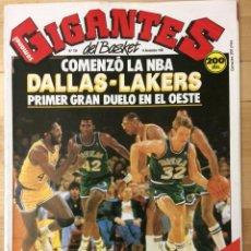 Coleccionismo deportivo: REVISTA BALONCESTO GIGANTES DEL BASKET Nº 158. Lote 129121191