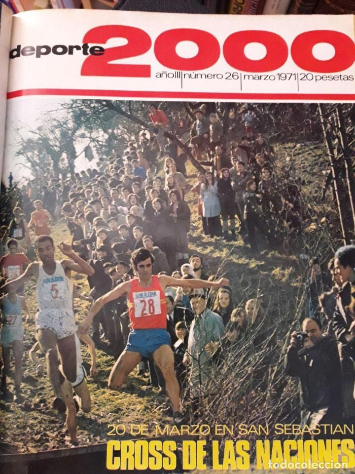 Coleccionismo deportivo: DEPORTE 2000 12 REVISTAS ENCUADERNADAS / Nº 22,23,24,25,26,27,28,29,30,31,32 y 33 / AÑOS 1970-71 - Foto 3 - 129230359