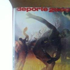 Coleccionismo deportivo: DEPORTE 2000 LOS 10 PRIMEROS NÚMEROS ENCUADERNADOS / 1969. Lote 129248019