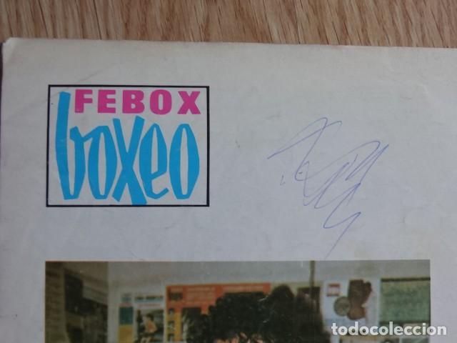 Coleccionismo deportivo: Febox Boxeo nº272 nº 272 Cassius Clay Larry Holmes Jose Luis VichoAño 1980 Octubre - Foto 3 - 129295015