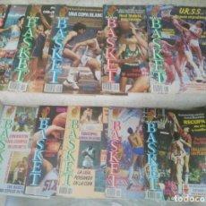 Coleccionismo deportivo: NUEVO BASKET-LOTE DE 10 REVISTAS. Lote 129689507